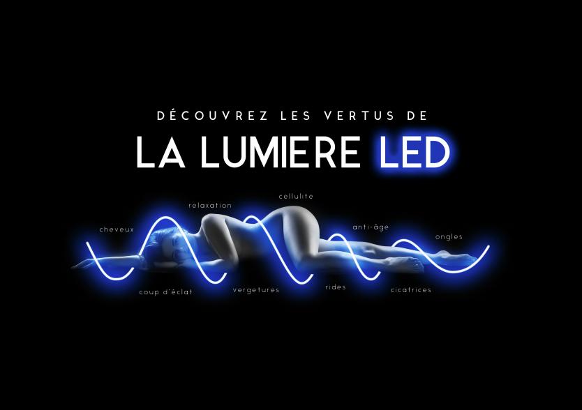 LED SYSTEM, cellulite, anti-age, anti-rides, appareil esthetique, professionnel, institut de beauté